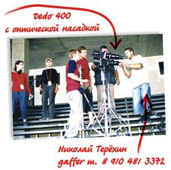 Аренда Линзы для Dedo 400D
