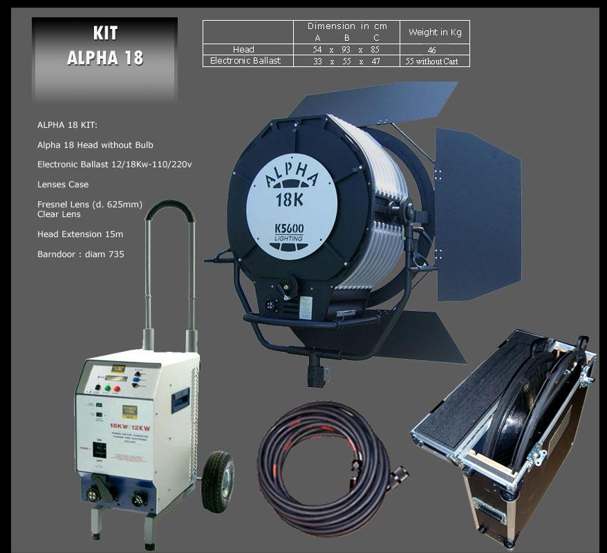 K-5600 ALPHA HMI 18000 W