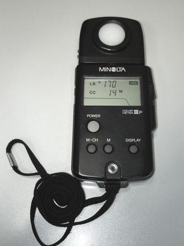 Колорметр Minolta  III-F