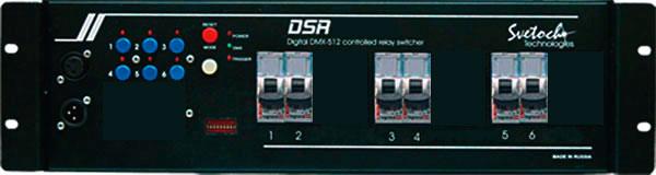 Блок прямых включений (свитчер)  6x2,5kW DMX