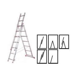 Стремянка 3-х секционная (3,2м - 6,2м)