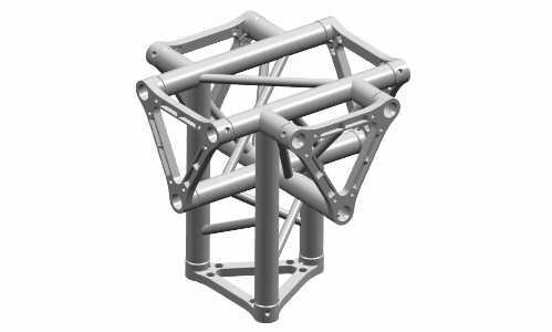 Ферма треугольная 30см пятисторонний блок